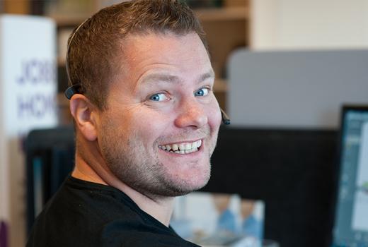 Telefoniekspert <br> Tony Roger Sivertsen