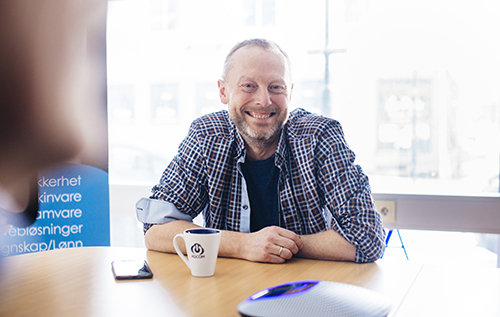 Teknisk leder  Eirik Morten Lie Østgaard