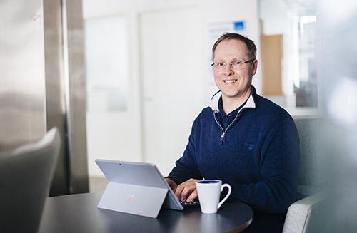Vismaekspert  Frank-Espen Kristoffersen