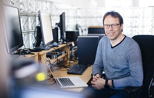 Tekniker og hobbyfotograf  Tore Bersmo