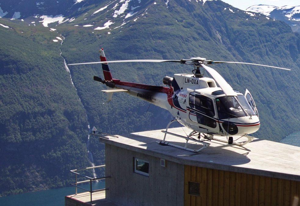 Papirløst helikopterselskap