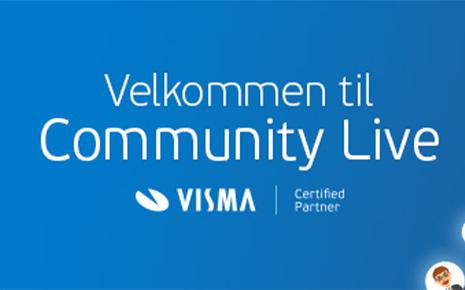 Det er straks klart for Vismas Community Live!