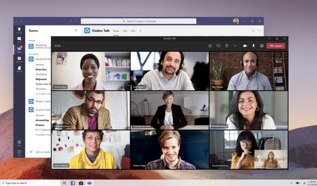 Ny møte- og samtale-opplevelse i Microsoft Teams